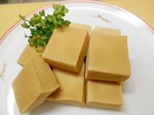 レンジで簡単★高野豆腐の簡単煮★