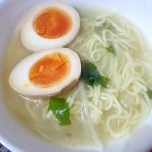 リメイクレシピ☆ 蒸ししゃぶの残りでラーメン