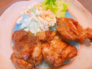 鶏のシーズニングスパイス焼き☆香り良い