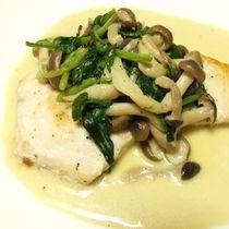 白身魚のソテー~バターソース~