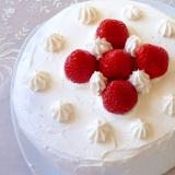【炊飯器におまかせ】超簡単シンプルなイチゴケーキ