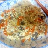 白滝と豆腐の味噌マヨ炒り煮