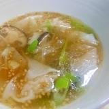 冷凍ワンタンで時短~ワンタンスープ