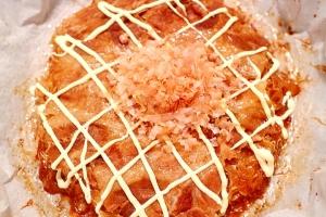 焼きそばの粉末ソースで、お好み焼き風キャベツ焼き
