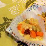 サラダ用豆・にんじんのカップ焼き