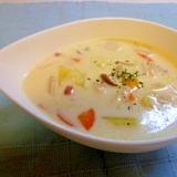 野菜たっぷりクリームスープ