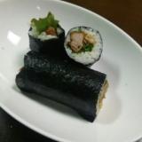 巻き寿司/トンカツ