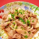 豚肉ときのこの炒め物