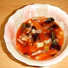 ダイエット流の野菜たっぷりキムチスープ