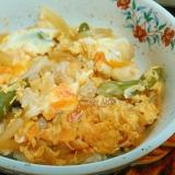 北浦軍鶏&エサのよい卵で親子丼
