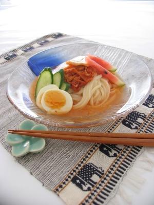 冷麺風 ピリ辛スープうどん