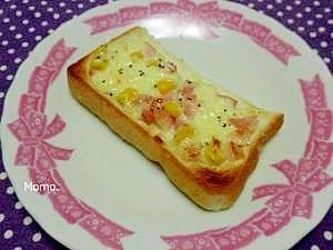 これは美味しい♪チーズマヨトースト