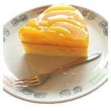 桃の缶詰使用!ひんやり夏のムースケーキ