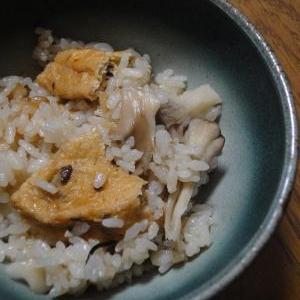 がんもと舞茸の炊き込みご飯