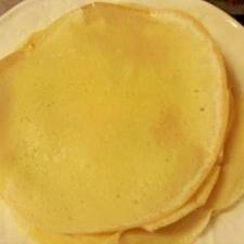 豆乳クレープ