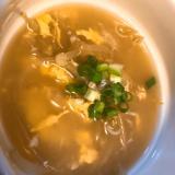 卵ともやしの簡単スープ