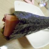 スパム海苔巻き