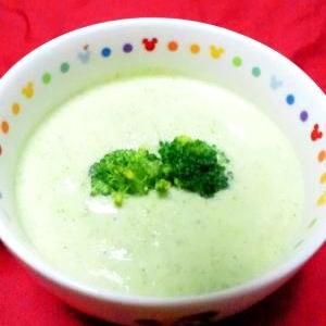 栄養満点食べるスープ☆ブロッコリー