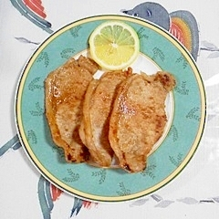 生姜とにんにくにつけて、焼肉