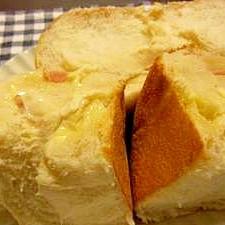 とろ~り♪ベーコンチーズ♪パン