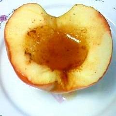 レンジ&オーブントースターで 簡単焼きリンゴ