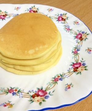 簡単☆米粉豆乳パンケーキ