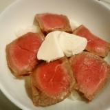 フライパンで簡単◎ローストビーフ丼