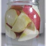 りんごでノンシュガー果実酒作り