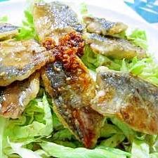 ☆アジ南蛮野菜たっぷりサラダ☆