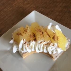 りんご甘煮♡リングパン