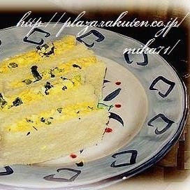 *ブロッコリーと卵のサンドウィッチ