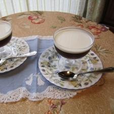 生クリームたっぷり自宅で簡単にできるコーヒーゼリー