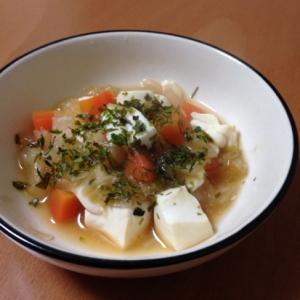 離乳食後期♪豆腐と白菜のみそ煮