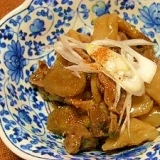圧力鍋で☆砂肝の煮物
