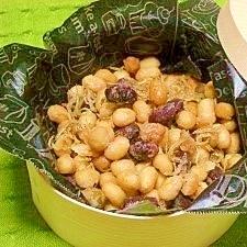 減塩☆ジャコ炒り豆