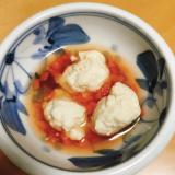【離乳食後期】鶏団子と人参のケチャップ煮