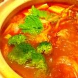 簡単トマト鍋
