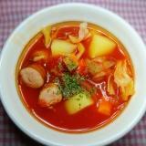 トマト缶で簡単★サラサラ~★ミネストローネ