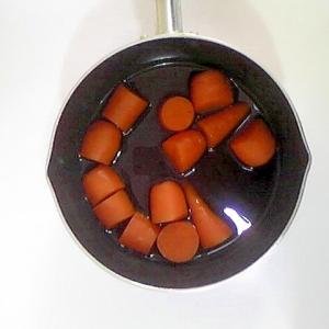 人参の煮物