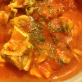 トマト缶とあさり缶でスープ