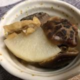 干し椎茸と大根の煮物