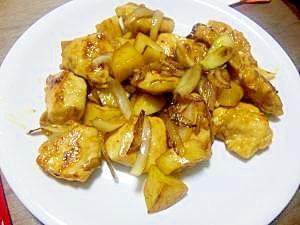 鶏胸のオイスターソース炒め
