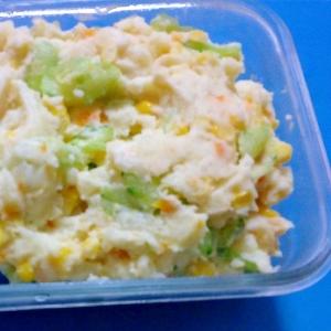 トウモロコシポテトサラダ