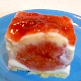 レアチーズ風 いちじくのヨーグルトケーキ