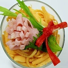 母の日に★カーネーションのカップ寿司