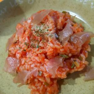 お米から簡単トマトリゾット