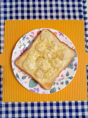 くわいのチーズトースト♪