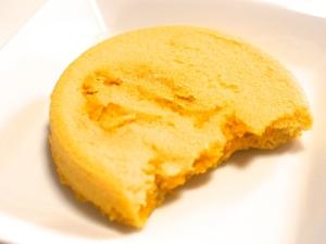 離乳食に!米粉の蒸しパンカボチャ入り♫