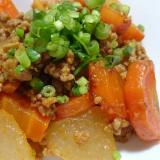 ストウブDe〜豚ひき肉と大根の中華風