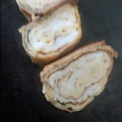 ポン酢とマヨネーズの卵焼き